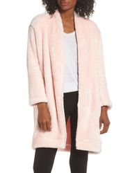 Nordstrom - So Soft Plush Cocoon Cardigan - Lyst