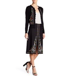 Ted Baker - Hampton Court Embroidered Skirt - Lyst