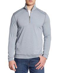 Tommy Bahama Ferrara Flip Half Zip Pullover - Multicolour