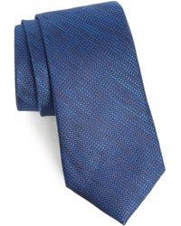 Calibrate - Hoss Textured Silk Tie - Lyst