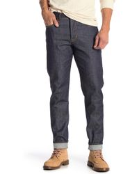 Hudson Jeans - Sartor Slouchy Skinny Fit Jeans (mural) - Lyst