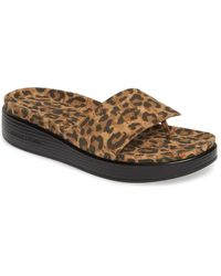 Donald J Pliner Fifi Slide Sandal - Brown