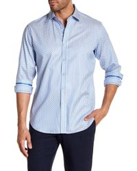 Robert Graham - Westland Row Regular Fit Print Woven Shirt - Lyst