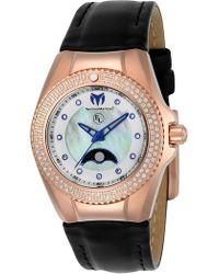 TechnoMarine - Women's Eva Longoria Crystal Quartz Watch - Lyst