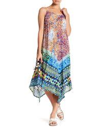 Nanette Lepore | Tanzania Tile Midi Dress | Lyst