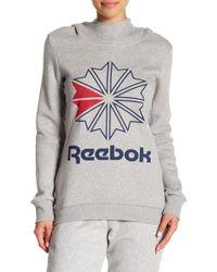 Reebok - Starcrest Hooded Pullover - Lyst