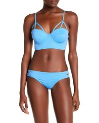 Eco Peace by Aqua Green - Lolapaloza Shillie Underwire Bikini Top - Lyst
