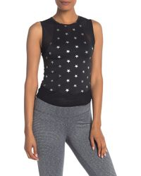Material Girl Juniors Sleeveless Cutout Peplum Top Black Combo Small
