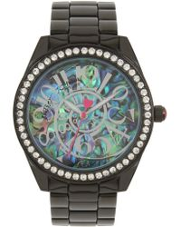 Betsey Johnson - Women's Swirl Bracelet Watch, 40mm - Lyst