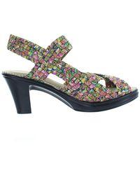 Bernie Mev Lizette Open Toe Slingback Sandal - Multicolor