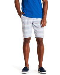 Ben Sherman - Horizontal Stripe Print Shorts - Lyst