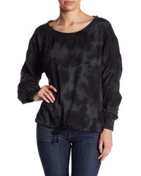On The Road - Malina Ruched Sleeve Sweater - Lyst