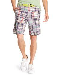 Tailor Vintage - Patchwork Walking Shorts - Lyst
