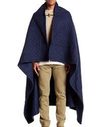 Brixton - Cheyenne 2-in-1 Blanket Poncho - Lyst