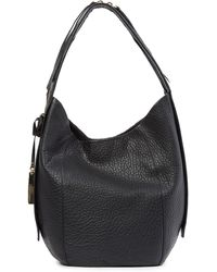 Vince Camuto - Siny Leather Hobo Bag - Lyst