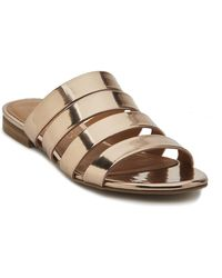 4738308f9194 Lyst - Frye Perry Knot Thong Flat Sandal in Natural