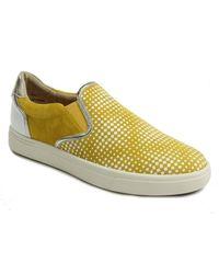 Vaneli Okal Slip-on Sneaker - Multiple Widths Available - Yellow