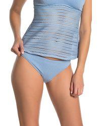 Robin Piccone Perla Bikini Swim Bottoms - Blue