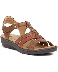 Earth - Amelie Leather Sandal - Lyst
