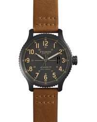 Filson - Men's The Mackinaw Field Watch, 43mm - Lyst