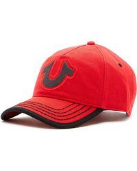 True Religion - Puff Horseshoe Baseball Cap - Lyst