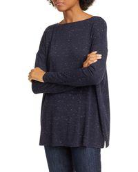 Nordstrom Dolman Sleeve Knit Top - Blue