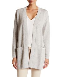 Lands' End - Long Knit Cardigan - Lyst