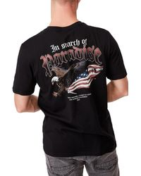 Cotton On Graphic Moto T-shirt - Black