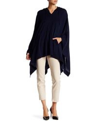 Lands' End - Hooded Poncho - Lyst