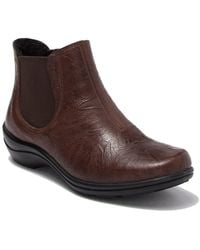 Romika Cassie 46 Leather Chelsea Bootie - Brown
