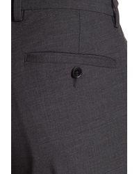 Cole Haan Two Button Notched Lapel Trim Fit Suit - Gray