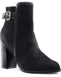 Lands' End - Buckle Ankle Bootie - Lyst