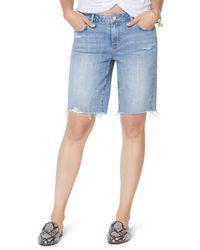 Sam Edelman Harriette Bermuda Shorts - Blue