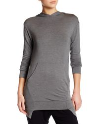 Go Couture - Long Sleeve Hoodie - Lyst