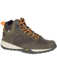 Merrell Havoc Wells Waterproof Leather Sneaker - Brown