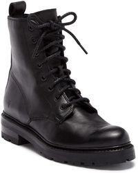 Frye - Julie Combat Boot - Lyst