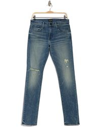 Joe's Jeans The Asher Distressed Slim Jeans - Blue