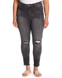 REBEL WILSON X ANGELS - The Icon High Rise Super Skinny Jeans (plus Size) - Lyst