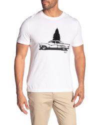 Original Penguin - Tree & Car Graphic Tee - Lyst