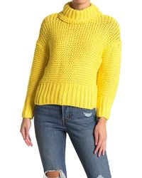 Free People My Only Sunshine Sweater - Yellow