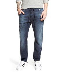 DIESEL Krooley Jogg Slouchy Slim Jogger Jeans - Blue