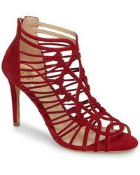 2760429604d Vince Camuto - Joshalan Strappy Suede Sandal - Lyst