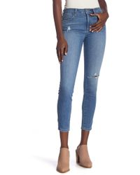 Siwy Womens Lynette Mid Rise Skinny Jeans in One Way