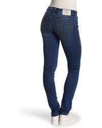 True Religion Jennie Curvy Skinny Jeans - Blue