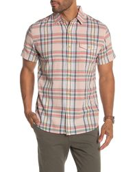 Grayers - Stanley's Classic Madras Plaid Short Sleeve Shirt - Lyst