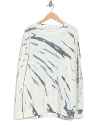 Threads For Thought Cathy Firecracker Tie-dye Pullover Sweatshirt - Gray