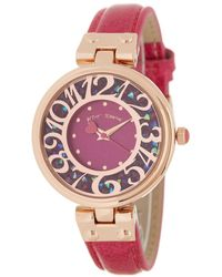 Betsey Johnson Women's Station Embellished Watch - Multicolour