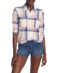 Roxy - Setai Miami Plaid Shirt - Lyst