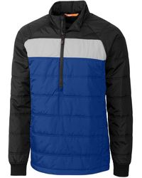 Cutter & Buck Thaw Insulated Packable Pullover - Blue