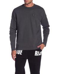 True Religion - Embossed Logo Oversized Fleece - Lyst